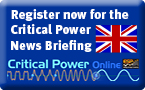 Register for Critical Power News Briefing